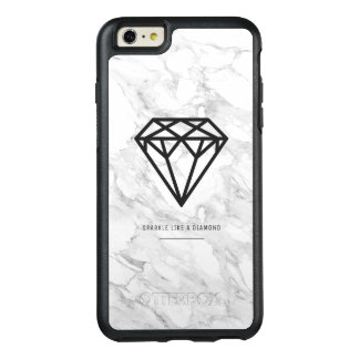 Diamond with Marble OtterBox iPhone 6/6s Plus Case