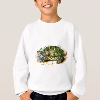 diamondback Terrapin Turtle from JungleWalk.Com Sweatshirt
