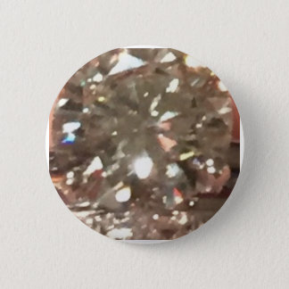 Diamonds 6 Cm Round Badge