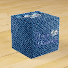 Diamonds and Denim Party Favour Box