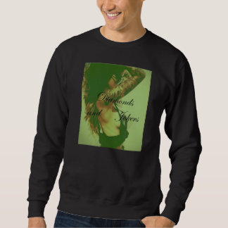 Diamonds and Jokers - Crewneck - Inked up chick Sweatshirt
