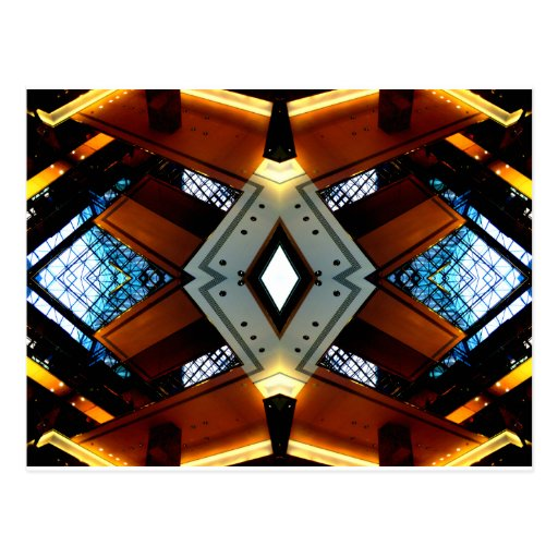 Diamonds and Lights Urban Futurism CricketDiane Post Cards