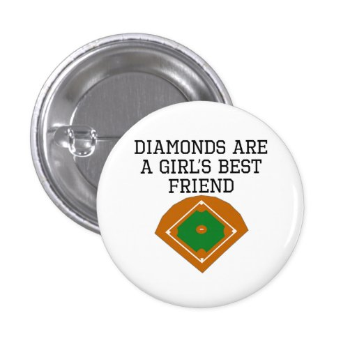Diamonds Are A Girl's Best Friend Pin
