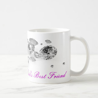 Diamonds Are A Girl's Best Friend Mug