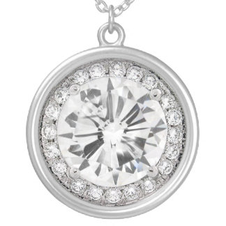 DiAMONDS are a girl's best friend Necklace by Rich