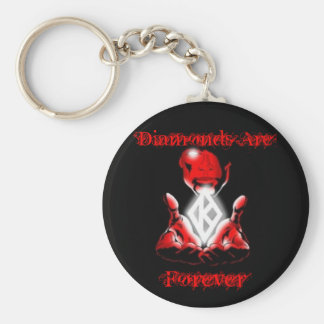 Diamonds are Forever Keychain