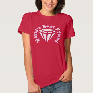 diamonds are girls best friends tshirt
