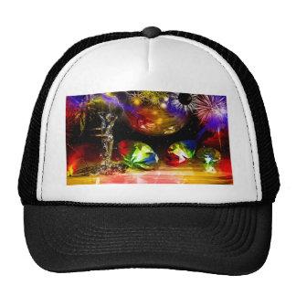 Diamonds art hats