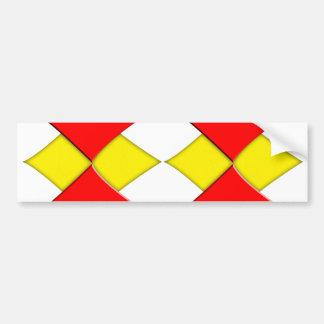 Diamonds Bumper Sticker