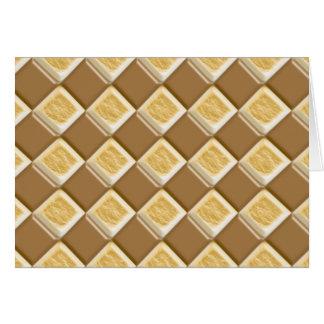Diamonds - Chocolate Marshmallow Greeting Cards