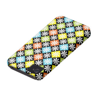 Diamonds floral colorful pattern blackberry bold iPhone 4 covers