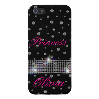 Diamonds In The Night Sky iPhone 5/5S Covers
