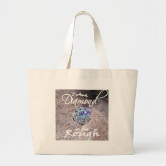 Diamonds in the Rough Tote Bags