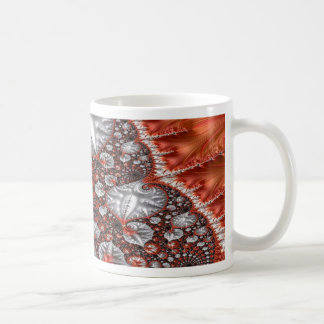 Diamonds in the Rough Fractal 3 Coffee Mug