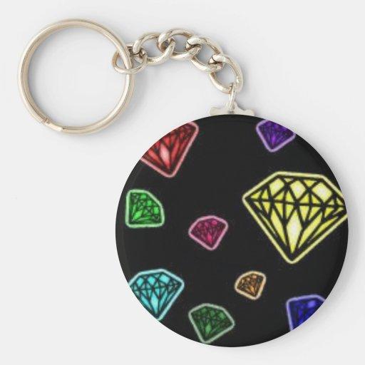 diamonds key chains