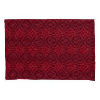 Diamonds More Diamonds Reds Pillowcase