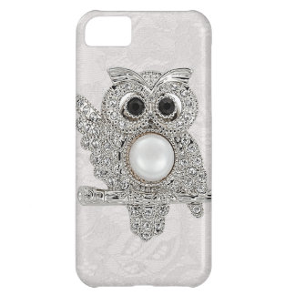 Diamonds Owl & Paisley Lace printed IMAGE iPhone 5C Cases