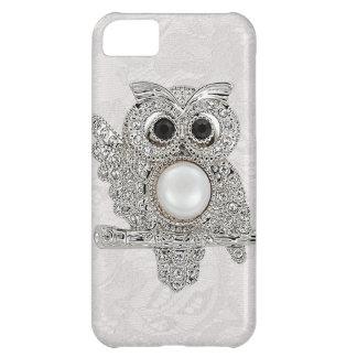 Diamonds Owl & Paisley Lace printed IMAGE iPhone 5C Case