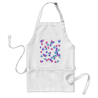 Diamonds pattern standard apron