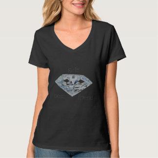 Diamonds ploughs girls best friend tshirts