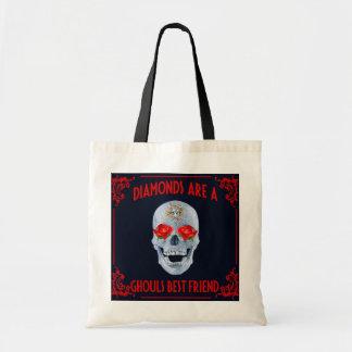 Diamonds R A Ghouls Best Friend Tote Bag