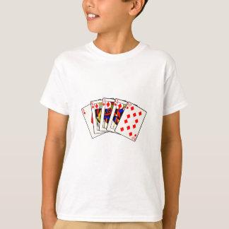 Diamonds Royal Flush T-Shirt