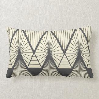 Diamonds yellow lumbar cushion