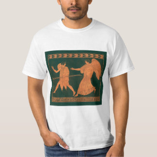 Diana and an Angel, Vintage Roman Mythology T-Shirt