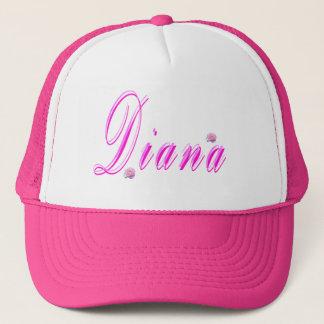 Diana Girls Name Logo, Trucker Hat