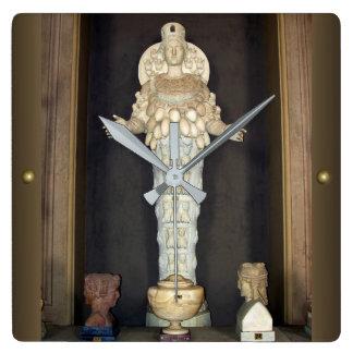 Diana of Ephesus Square Wall Clock