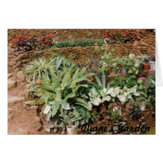 Diane's Garden - CricketDiane Art Products Greeting Cards