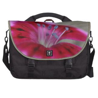 Dianthus Pink Flower Rickshaw Commuter Bag