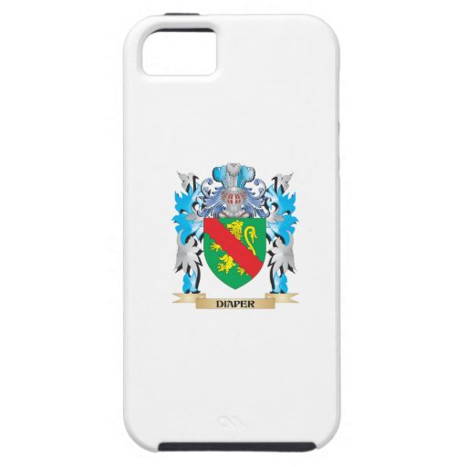 Diaper Coat of Arms - Family Crest iPhone 5/5S Covers