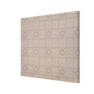Diaper design for wallpaper 1883 stretched canvas prints