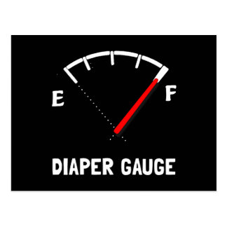 Diaper Gauge 2 Postcard