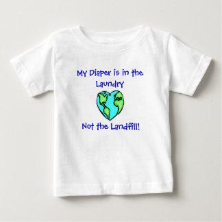 Diaper Laundry W/Back Tee Shirt
