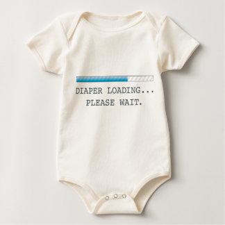 Diaper Loading Baby Onsie Baby Bodysuit