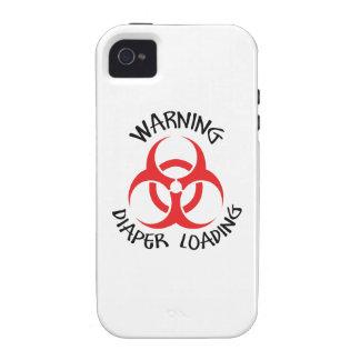 DIAPER LOADING iPhone 4/4S CASES