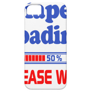 diaper loading please wait barely there iPhone 5 case