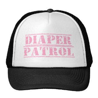 Diaper Patrol Trucker Hat (Pink)