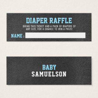 DIAPER RAFFLE Ticket Sports Theme Baby Shower