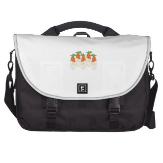 Diapered Carrots Laptop Bag