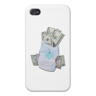 DiaperFullMoney102111 Covers For iPhone 4