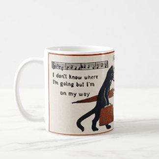 Diary of a Bad Cat Mug (Vintage Black Cat)