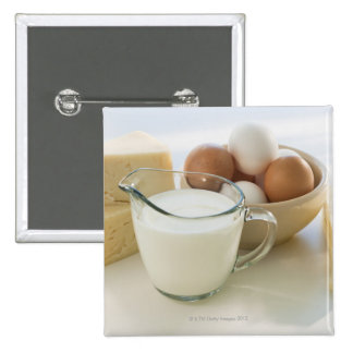 Diary products 15 cm square badge