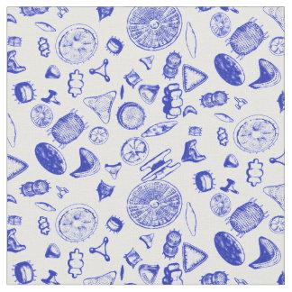 Diatoms Porcelain Fabric