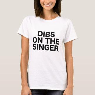 Dibs On The Singer Show Gig Convert Festival T-Shirt