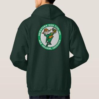 DIC Logo Men's Green Hoodie