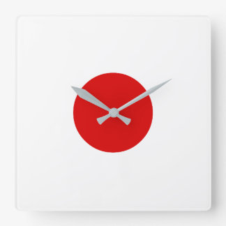Dice 1 square wall clock
