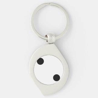 Dice 2 key ring